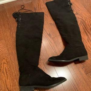 Thigh high Express boots